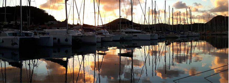 Martynika, Le Marin – wschód słońca